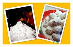 Οι κουραμπιέδες μας! ~ una cucina Polaroid Film, Blog, Blogging