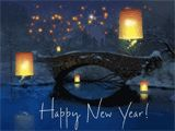 May hope and dreams light your way  and lead you into a new year  that shines with special joy.    Happy New Year!