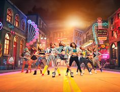 """I love their outfits and I love this song """"I got a boy"""" look it up so good"""