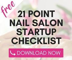 Want to Learn How to Start a Nail Salon? READ THIS FIRST! Learn How to Open a Profitable Nail Salon Quickly and Easily AND on a Shoestring Budget.