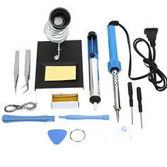 Nouveau 150 W Soldering Gun Kit en cas plug Lumineux Lampe 230 V Electrical Tools Tips