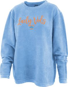 Looking for Tennessee Lady Vols Apparel? Orange Mountain Designs offers the best selection of Lady Vols Apparel online. We are also your Official retail store for the Pat Summitt Apparel and have the Exclusive Pat Summitt Exhibit Mountain Designs, Comfy, Orange, Lady, Sweaters, Blue, Fashion, Moda, Fashion Styles