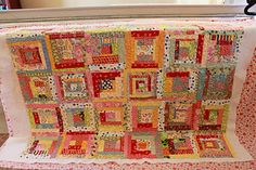 love this cheerful palette!  A Desert Quilter: Quilts and Dresdans!