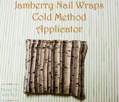 Home Ec. with Mel - Jamberry Nail Wraps Cold Method Applicator