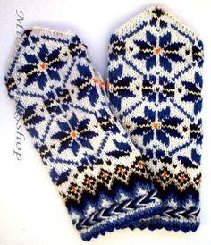 White Blue Mittens Hand Knitted Wool Mittens Hand Knitted   Etsy Blue Mittens, Knit Mittens, Knitting Socks, Hand Knitting, Knit Socks, Knitting Patterns, Blue Gloves, Wool Gloves, Crochet Gloves