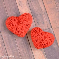 Love is in the air! Today we are going to show you how to make yarn wrapped hearts. This craft idea is great both for kids and grown ups, making it the one of the coolest Valentine's day crafts ever. Yarn Wrapped Hearts Craft – Valentines Day Craft Ideas for Kids What you need yarn …