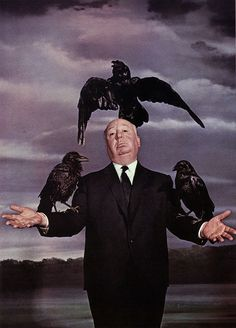 Hitchcock and his birds.