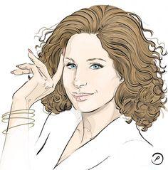 DGA+Barbra+Streisand+2015 | Barbra Streisand - love her nails always a beautiful length
