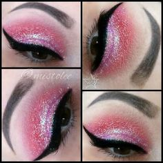 Created using starcrushedminerals in Mulan Vampirate & FaulReal along with Lit Cosmetics glitter in AfternoonDelight.