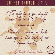 Reach Back  #coffee #coffeethoughts #coffeetalk #brewingbadasses #coffeehumor #coffeedence #youareabadass #branding