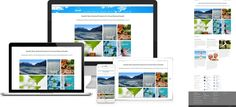 Skybright Natural Health - website design by Forge Online