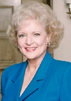 Betty White - sexy, smarmy and classy, all at the same time.