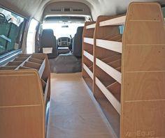 Craft Tech NZ Ld Kitset Van Shelving Van Shelving, Bunk Beds, Tech, Craft, Furniture, Home Decor, Decoration Home, Loft Beds, Creative Crafts