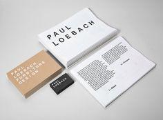 Paul Loebach designed by Studio Lin