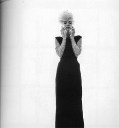 Marilyn Monroe - from the series of photos The Last Sitting by Bert Stern, 1962