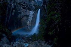 Waterfall and Rainbow.