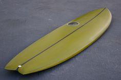 "6'10"" Easy Rider Fish Surfboard Olive Reverse Cutlap Resin Tint (Poly) Fish Surfboard, Surf Design, Surf Board, Easy Rider, Hand Shapes, Surfs, Man Stuff, Envy, Resin"
