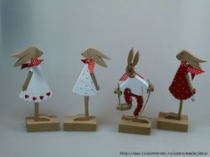 Woodworking Square, Woodworking Toys, Woodworking Classes, Woodworking Ideas, Wooden Crafts, Diy Crafts, Happy Easter, Easter Bunny, Easter Parade
