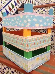 Resultado de imagen de caja del lidl decorada