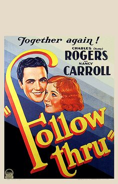 Follow Thru - USA (1930) Director:  Lloyd Corrigan, Laurence Schwab