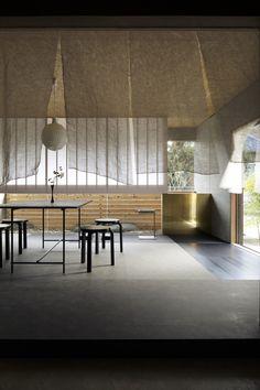Ideas For Landscape Architecture House Interior Design Japanese Modern, Japanese Interior, Japanese House, Japanese Design, Home Interior Design, Interior Architecture, Interior And Exterior, Landscape Architecture, Pavilion Architecture