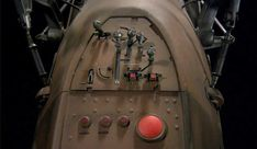 Detail closeup photos of the old Star Wars props Speeder Bike