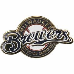 Milwaukee Brewers WinCraft Gold Logo Team Pin $6.95