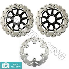 239.18$  Watch more here  - New Front Rear Brake Discs Rotors for FZR GENESIS 1000 87 88 89 FZR EXUP 1000 90 91 92 93 94 95 XJR 1200 95 96 97 XJR 1300 98