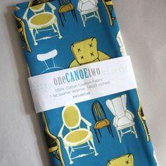 chairs on fabric  #1canoe2