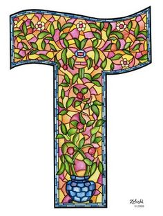 Stained glass looking T