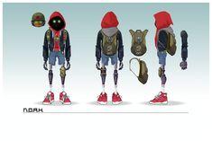 N.O.A.H. the game - Character Sheet, Vanja Todoric on ArtStation at https://www.artstation.com/artwork/g32KK