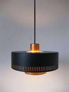 "FOG & MORUP ""METRO"" by Jo Hammerborg, Eames Panton Lamp Danish Modern | eBay"