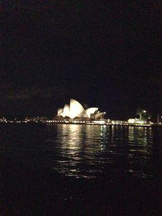 Last night in Sydney, Australia! Beautiful opera house