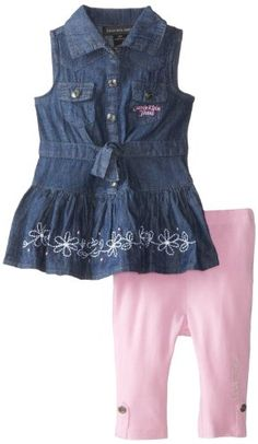 Calvin Klein Baby-Girls Infant Chambray Tunic with Leggings, Blue, 12 Months Calvin Klein,http://www.amazon.com/dp/B00EOICAOS/ref=cm_sw_r_pi_dp_oieEtb0PWR3DBXKA