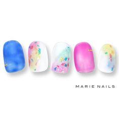 #マリーネイルズ #ネイル #kawaii #kyoto  #ジェルネイル #ネイルアート #swag #marienails #ネイルデザイン #naildesigns #trend #nail #toocute #pretty #nails #ファッション #naildesign #ネイルサロン  #beautiful #nailart #tokyo #fashion #ootd #nailist #ネイリスト #gelnails #pink #大人ネイル #ショートネイル #blue