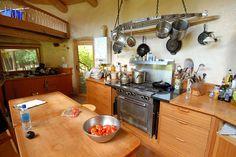 kitchen - island, drawers, pot holder