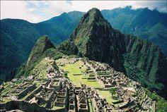 Le Machu Picchu - une des 7 merveilles du monde désignées en 2007.