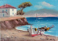 1318 (26) Αυθεντικός Πίνακας Ζωγραφικής ζωγράφου Δεπάστα