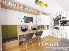 Gabinet styl Skandynawski - zdjęcie od Futurum Architecture - Gabinet - Styl Skandynawski - Futurum Architecture