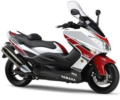 Yamaha Motor Company Limited is a Japanese manufacturer of motorcycles, marine products such as boats and outboard motors, and other motorized products. Fast Scooters, Motor Scooters, Yamaha Motor, Tmax Yamaha, Car Part Furniture, T Max, Motorcycle Manufacturers, E Scooter, Motorcycle Engine