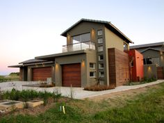 Earp Construction develops and sells properties in George on the Garden Route in South Africa. There are a range of design styles and sizes to suit your budget. Golf Estate, Open Living Area, Wooden Decks, Property For Sale, South Africa, Swimming Pools, Shed, Construction, Outdoor Structures