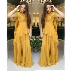 Indian Gowns Dresses, Indian Fashion Dresses, Indian Designer Outfits, Pakistani Dresses, Ivory Prom Dresses, Designer Punjabi Suits, Eid Dresses, Pakistani Suits, Stylish Dress Designs