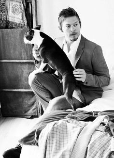 Norman Reedus- I can't decide if he's dirty and yucky or super hot. All I know, he's the best character on television hands down