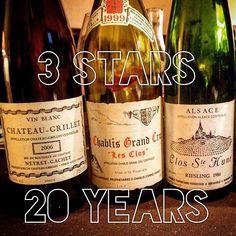 3 different faces of great wines #grillet #viognier #chablis #dauvissat #riesling #trimbach  #vin #dégustation #winelover #Vineyard #winetasting #tasting #wine #vigne #vines  #vignoble #naturalwine  #instawine #viticulture  #winegeek #winelover #vintagewine  #instavinho  #instadrink #instamood #wineblog #winestagram #wein #vino #vinhos
