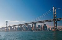 Take a cruise on the San Francisco Bay, and sail under both the iconic Golden Gate Bridge and colossal San Francisco-Oakland Bay Bridge! Explore the city's unique Architecture, Natural History, and Native American Culture on this enriching and educational 90-minute cruise across the San Francisco Bay. www.partner.viator.com/en/11907/tours/San-Francisco/San-Francisco-Bridge-to-Bridge-Cruise/d651-2630EXP