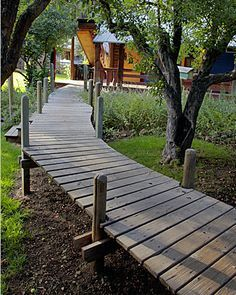 Image result for small garden boardwalk path