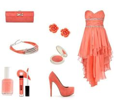 Love red, peach, coral kind of stuff so this is a win, win.