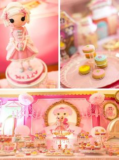 Lalaloopsy Beauty Parlor Party Spa Pink Birthday Party Theme Girl Kids