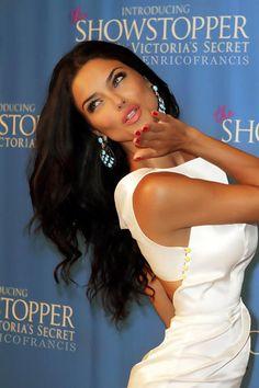 Adriana Lima... the brunette goddess ♥