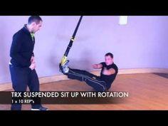 TRX Lower Abdomial Workout - Part 1 1x25